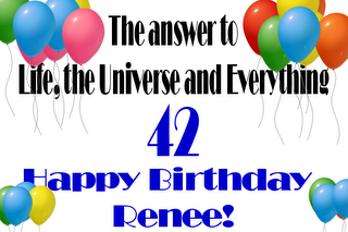 Happy Birthday, Renee