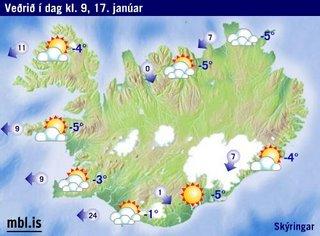 Veðurlausir Egilsstaðir!