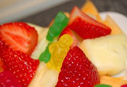 fruit and gummies