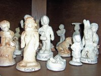 Scene from Family Chess Set