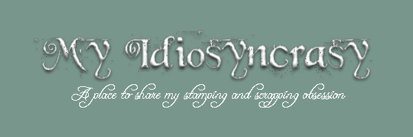 My Idiosyncrasy