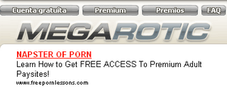 megarotic megaupload spam