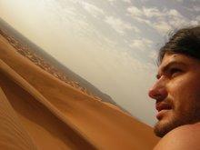 Las dunas d'Erg Chebbi (Marruecos)