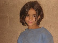 La niña del oasis (Marruecos)