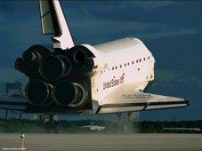 Aterrizaje del transbordador