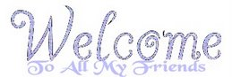Welcome, Welcome To My Blog