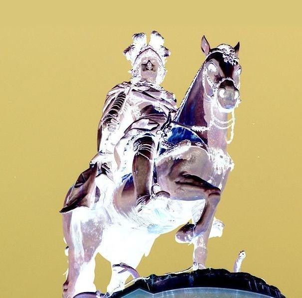 Dom José e seu cavalo