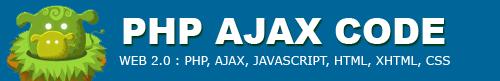 php ajax code