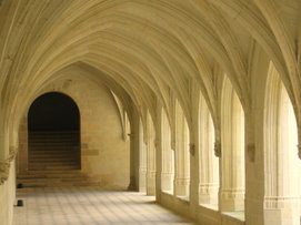 Cloister, Fontevraud Abbey, France