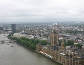 London, From The London Eye