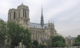 Notre Dame, Paris, May, 2006