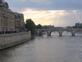 The Seine, May, 2006