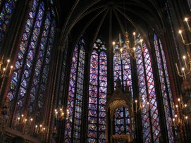 Sainte-Chapelle, Paris, May, 2006