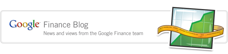 Google Finance Blog - News and Views from the Google Finance team