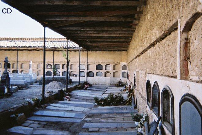 vrijdag 11: Brihuega: castillo Pena Bermeja - begraafplaats