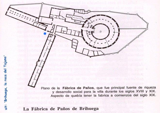 vrijdag 08: Fabrica Real de panos -plano-