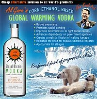 Global Warming Vodka