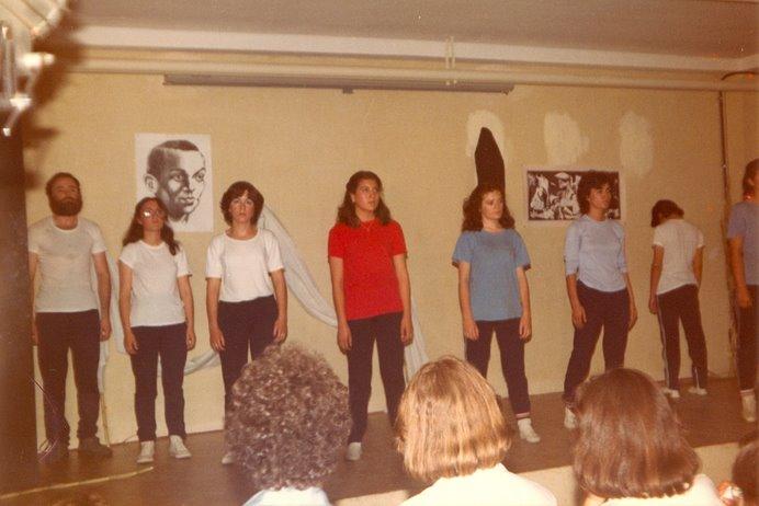 """Poemas de Miguel Hernández 1982. GET """"Pérez Comendador"""". Primera función 27 de mayo de 1982"""