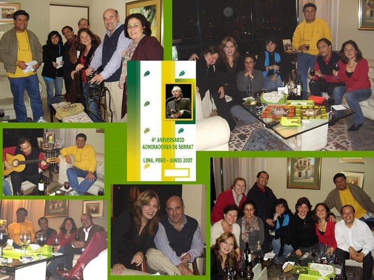 4º aniversario (Lima) Perú