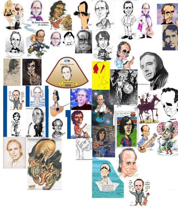 Caricaturas, dibujos, pinturas