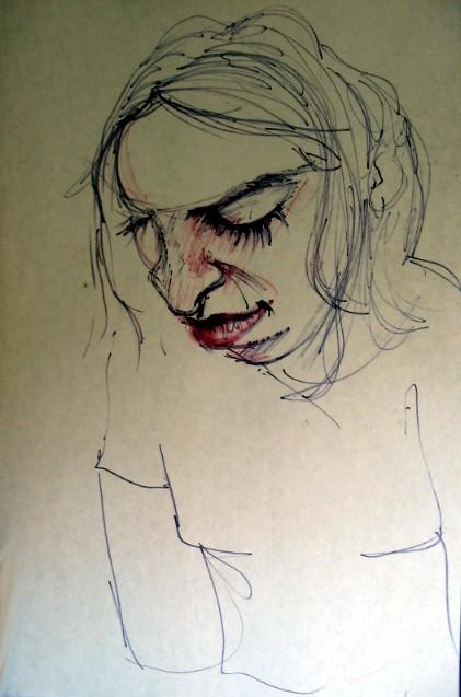 a veces es duro...y los dibujos parecen no aliviar...