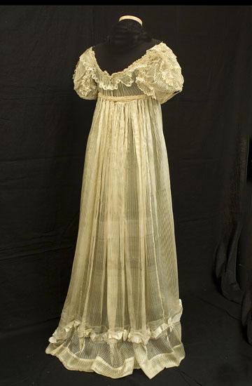 Dishin 39 dat my favorite regency gown for Denim wedding dresses for sale