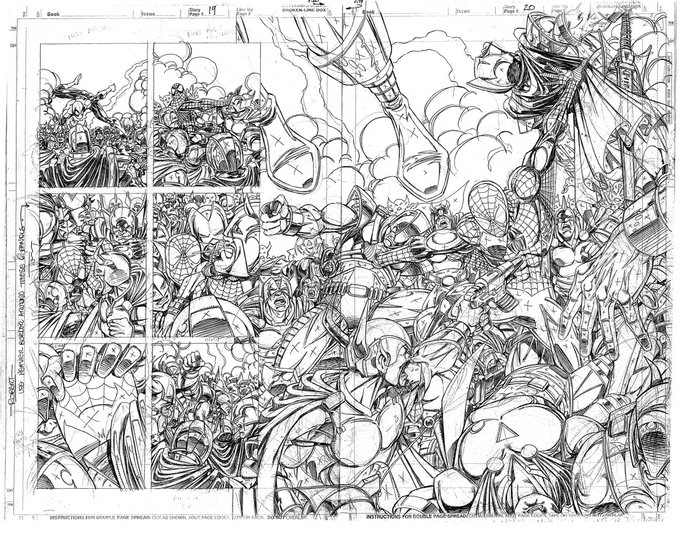 Tom Lyle's Unpublished Spidey Pages