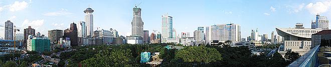 O Centro de Xangai