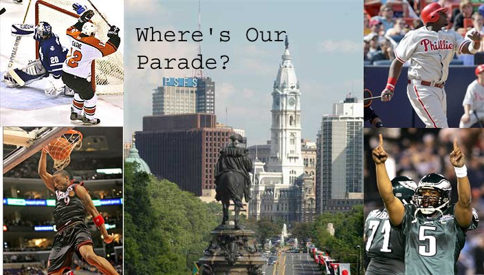 Where's Our Parade?
