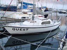 Quest on her mooring