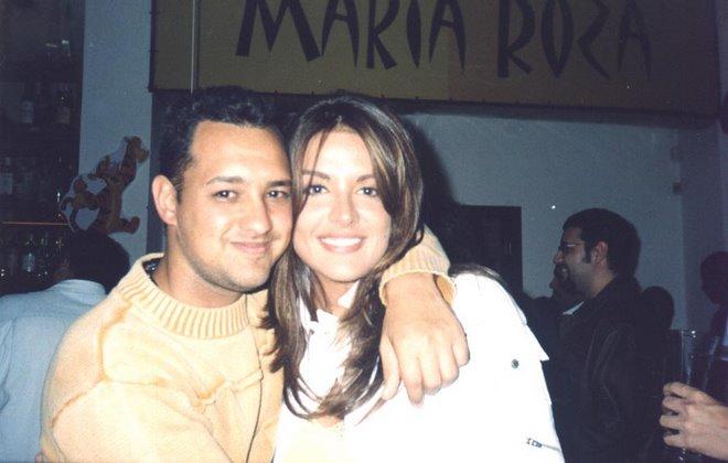 Rogério Motta e Cristina Dieckiman ( Ex - Miss Venezuela ).