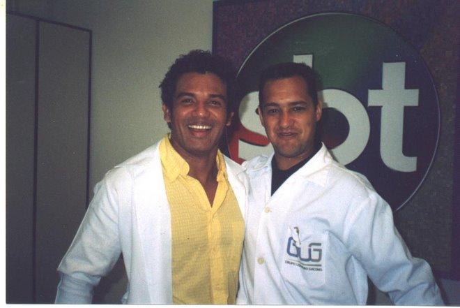 Rogério Motta e Déo Garcez.