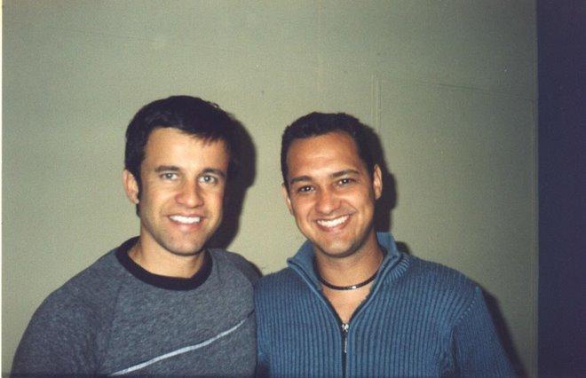 Rogério Motta e Claudio Fontana.
