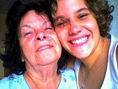Minha mãe e minha filha.