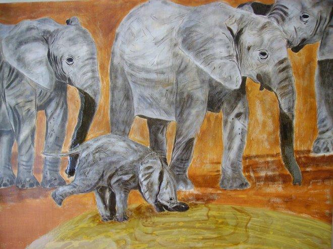 Baby Elephant - Sold