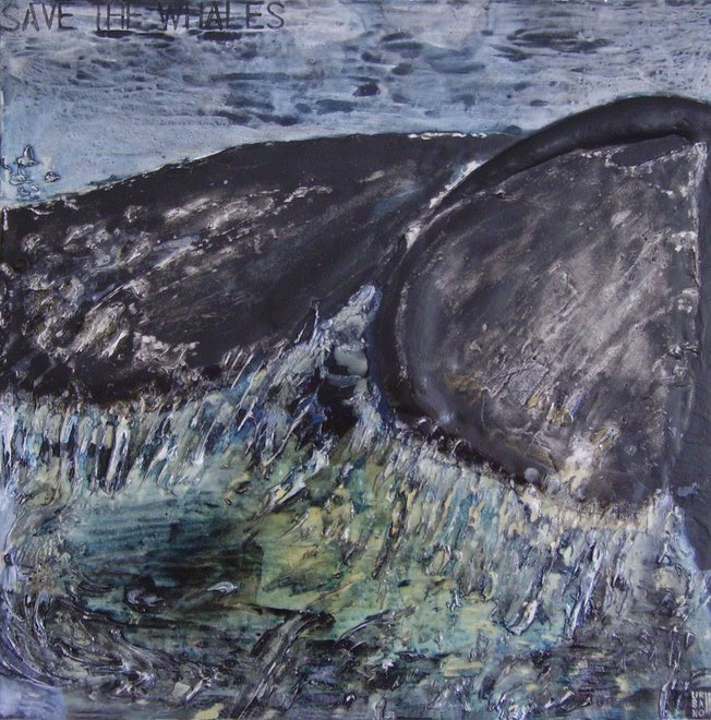 Save the Whales - SOLD