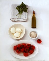 ingredienti per caprese