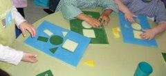 Os puzzles/Dominó (Formas geométricas)