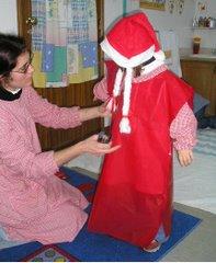 Um dos muitos fatos do desfile do nosso Natal