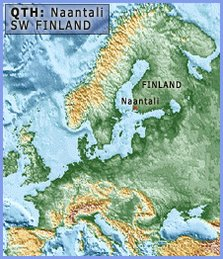 Map - Naantali-location