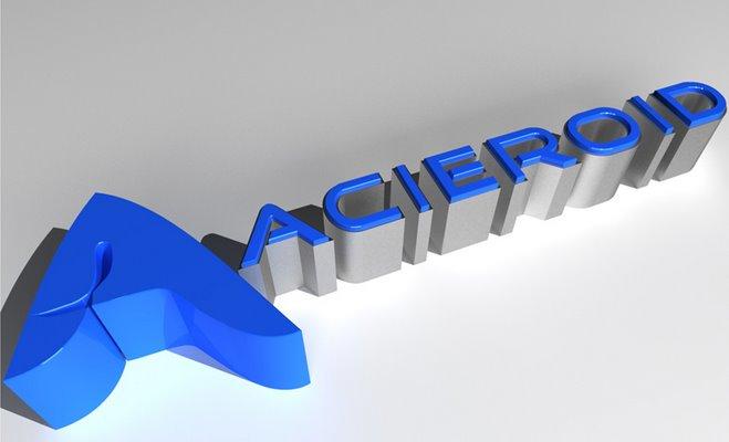 Logo Acieroid Presentaciones de proyectos