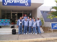 Equipo de Tiro Nicaragua en los VIII Juegos Centroamericanos Guatemala 2006