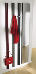 Jeri s organizing decluttering news unusual coat rack for Fold down coat hooks