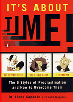 book cover, It's About Time: The 6 Styles of Procrastination and How to Overcome Them