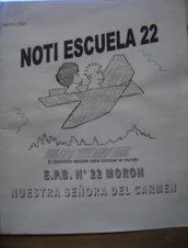Revista escolar: NOTI ESCUELA 22