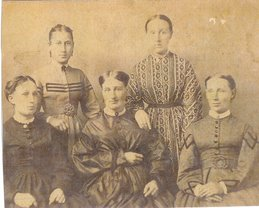 Women Folk in the 1860's