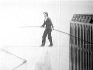 Philippe Petit, Aug., 1974