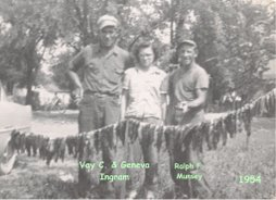 Vay & Geneva Ingram with Ralph Munsey