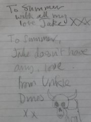 Jake and Dinos .... still love u and foregive you