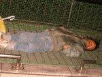Homeless People in Tokyo